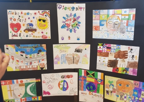 Haringey Welcome art competition entries